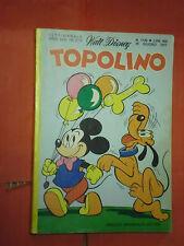 WALT DISNEY -TOPOLINO libretto- n°1126 a- (L) - originale mondadori- anni 60/70