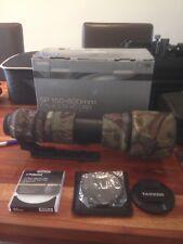 Tramron 150-600mm F/5-6.3 DI VC USD lens canon fit