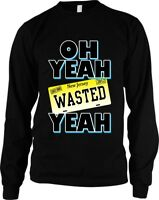 Oh Yeah Wasted New Jersey Yeah Popular Reality TV Show Long Sleeve Thermal