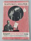 1929 Nature's Helper Campbell Infrared Ray Lamp quack medical device