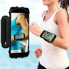 Outdoor Mobile Phone Holder 180Degree Rotating Wrist Strap Bracket Sport Running