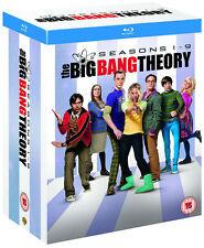 BIG BANG THEORY Complete Season Series 1 2 3 4 5 6 7 8 9 1-9 Boxset NEW BLU-RAY