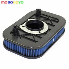 Motorcycle Air Filter Cleaner Blue For Harley Sportster 883 1200 2004-2013 2005