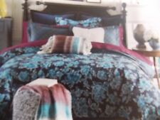 NEW TOMMY HILFIGER TYBURNIA BLUE TWIN DUVET COVER & SHAM SET