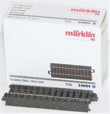 Märklin - Vía recta (94 mm) importado de Alemania