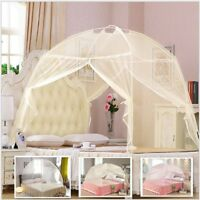 1PC Portable Folding Mesh Bed Canopy Dome Tent Mosquito Net Three Colors Choices