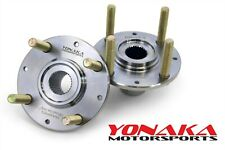 Yonaka Wheel Hubs Swap Set for 92-00 Honda Civic K20 K24 RSX 36MM 240MM Rotor