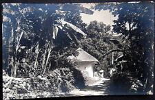 MEXICO ~ 1940's TAMAZUNCHALE ~ Pintoresco Callejon ~ Real Photo PC  RPPC