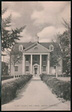 EASTON MD Talbot County Free Library Vintage B&W Postcard Early Old Maryland PC
