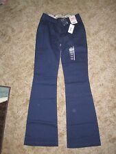 NEW Arizona Jean Co. Navy Blue 19 Short Favorite Trouser Pants Low Rise Flare!!!