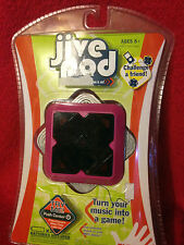 JIVE POD TURN YOUR MUSIC INTO  A GAME WITH 3 LEVELS OF PLAY AND WITH  SCORING