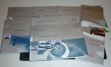 2000 Audi Tt Coupe Owners Manual Set guide 00 w/case