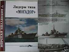Mogador Class French Navy Leaders * Ships Destroyers Volta