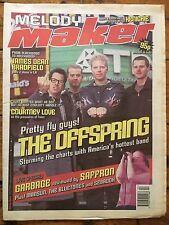 Melody Maker 30/1/99 The Offspring, Mercury Rev, Cardigans, Hole, Straw