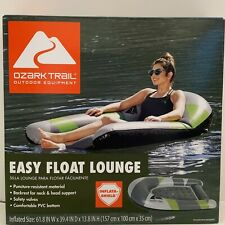 Ozark Trail Easy Float Lounge Inflatable Tube Water Pool Swimming Floating 🤿