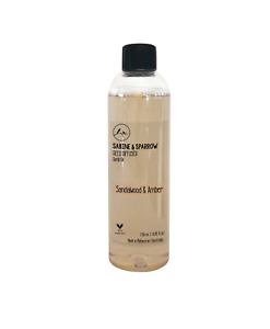 Sandalwood & Amber Diffuser Oil refill 50-500ml+Bonus Premium Rattan Reeds