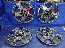 "new 2006-2011 Chevy Malibu HHR 16"" bolt on chrome Hubcaps wheel covers set of 4"