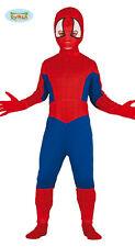 Costume Uomo Ragno Bambino TG 5/6 Anni Travestimento Spiderman Carnevale Cosplay
