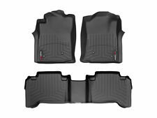 WeatherTech FloorLiner Mat for Toyota Tacoma Double Cab - 2008-2011 - Black
