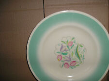 beautiful iconic Susie Cooper painted plate Dresden spray ? design
