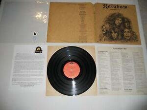 Rainbow Long Live Rock n Roll Dio/Blackmore Analog '78 EXC 1st ULTRASONIC Clean