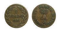 pci3191) Lucca Carlo Ludovico di Borbone (1824-1847) - 1 Soldo 1826