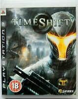TimeShift / TIME SHIFT (Sony PlayStation 3, 2007, PAL) PS3 Region Free