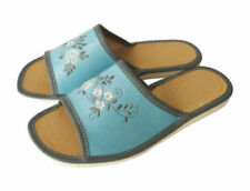 Handmade 100% Leather Upper Material Standard (B) Width Shoes for Women