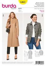 Burda Nähe Muster Damen 'Mantel & Jacke Size 8 - 20 6461
