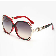 88dbf4a7f9a Women s Retro Fashion Designer Pearl Sunglasses Outdoor Eyewear Eye Glasses