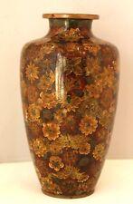 Grand vase en cloisonné JAPON fin 19ème