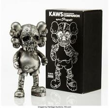 KAWS X PUSHEAD COMPANION (SILVER), 2005 PAINTED CAST VINYL 10-1/2 X... Lot 11083