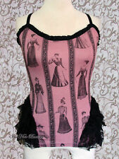 Lip Service Steampunk Victorian Step in Time Westing Manor Cami Rose XS