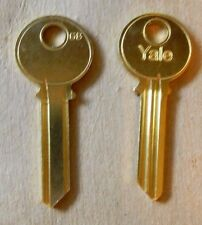 Original Yale Key Blanks GB Keyway 6 Pin - 2 Keys