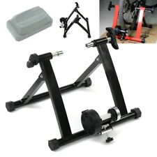 Indoor Stationary Magnetic Resistance Bicycle Trainer Exercise Stand - Black