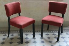 Pair of robust vintage chairs