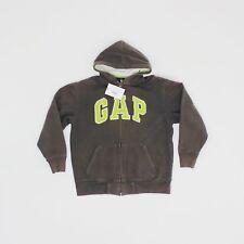 Gap Kids 12 años 13 años XL para hombres Talla Xs Gris Cremallera Con Capucha