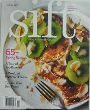 Sift Spring 2017 65 + Recipes Tour of LA Top Bakeries Flatbread FREE SHIPPING sb