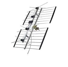 Channel Master 4221HD UHF 4 Bay HD TV Terrestrial Antenna 50 Ft Coax Cable Free!
