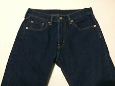 Levis Strauss & Co 505 Jeans For Men 30x30 Dark Blue NWOT 100% Cotton