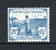 """FRANCE STAMP TIMBRE N° 151 """" ORPHELINS 25c+15c  FEMME LABOUR """" NEUF xx LUXE T113"""