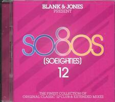 "BLANK & JONES - SO80S 12 2019 2CD 22 x 12"" Mixes WHAM!,SADE,GEORGE BENSON,VISAGE"