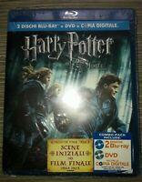 HARRY POTTER E I DONI DELLA MORTE PARTE 1 - EDIZIONE SPECIALE 2 BLU RAY + DVD