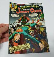 💥  SUPERMAN'S PAL JIMMY OLSEN#134 1st DARKSIED CAMEO *tape on cover-staple pull