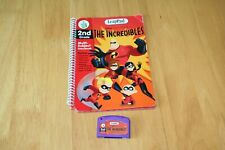 Leappad The Incredibles Game Cartridge and book.