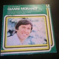 TUTTI I SUCCESSI DI GIANNI MORANDI *1976 - DISCO VINILE 33 GIRI* N.195