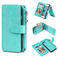 Samsung Galaxy S8/S8 Plus Leather Removable Wallet Magnetic Flip Card Case Cover