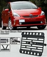 For 10-Up Toyota Prius Front Bumper Tow Hook License Plate Mount Bracket