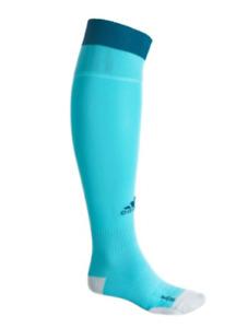 Adidas Football Socks Over Calf, Men's Shoe Size 5-6.5, S, Blue, Soccer L2