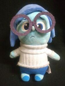 "Disney's Pixar Inside Out Blue Sadness 11"" Plush Toy"